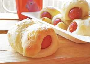 Mini Chinese Sausage Rolls